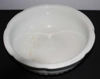 Vintage Ironstone China Bowl Warranted