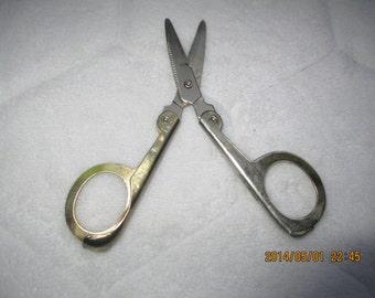 Vintage Folding Scissors