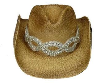 Infinity bling cowboy hat