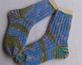 tricotés à la main chaussettes 38-40