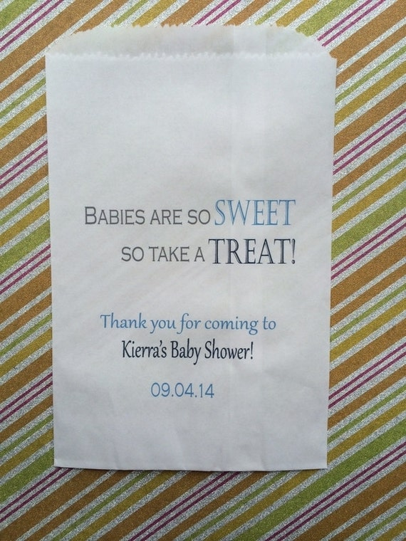 treat baby shower favor bags candy bar bags candy treat bags