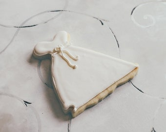 Wedding Dress Cookies