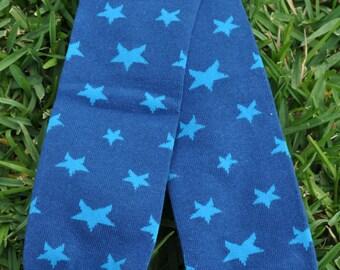 Blue Stars Leg Warmers