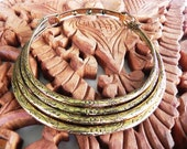 Gold Soul Calling Hmong tribal choker necklace