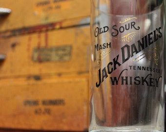 Pair of Vintage Jack Daniel's Tennessee Whiskey Glasses