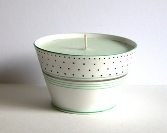 Elegant Art Deco Chelsea Candle Bowl
