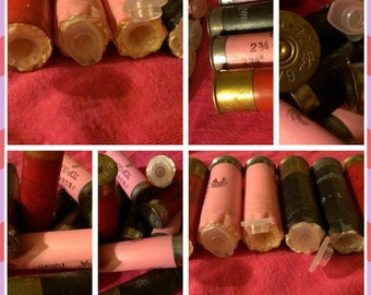 6 Pack - Spent Shotgun Shells, Bullet GEOCACHE Container, Micro