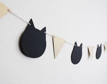 Modern Cats Paper Garland 5 ft.