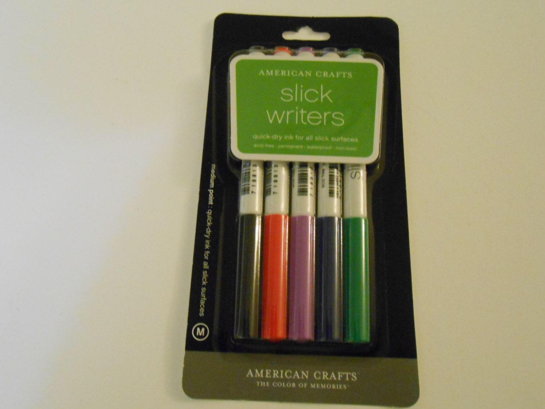 american crafts slick writers