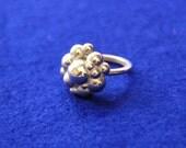 3D printed Sterling Silver Ring Spheres