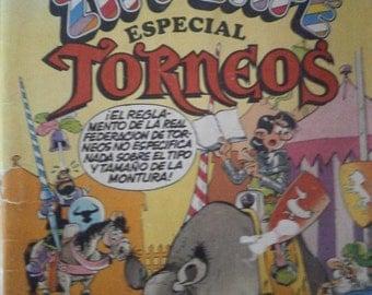 Vintage Spanish Comic Zipi Zape