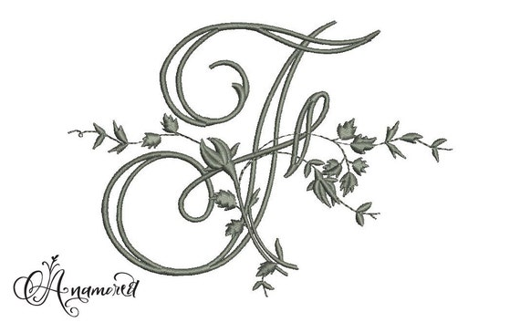 Fancy Letter F