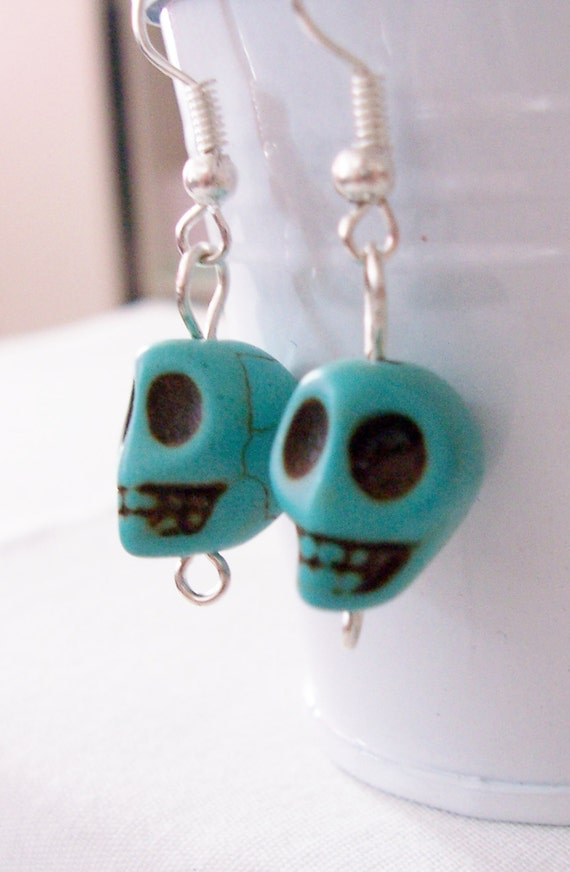 cinco jewelry skull earrings cinco de mayo earrings 8981