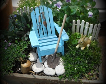 Miniature garden starter accessories
