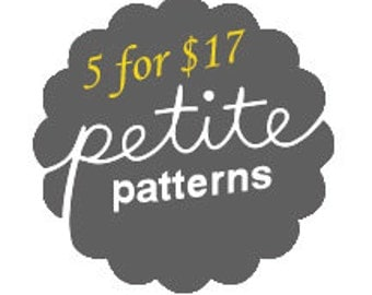 Any 5 Patterns for 17 dollars