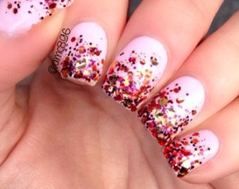 Warm & Cozy handmade custom nail polish from Glimmer by Erica