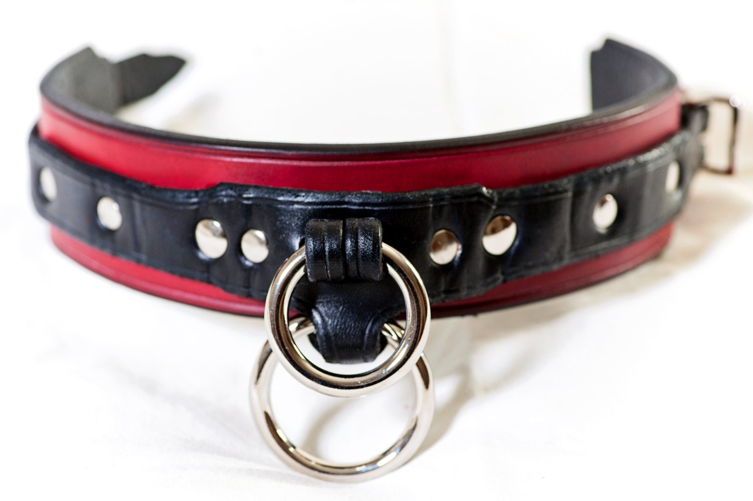 from Deangelo leather collar gay
