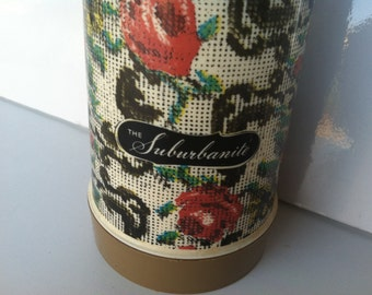 Back To School Special... The Suburbanite Vintage Flowered Pattern Thermos