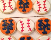 New York Mets Cookies