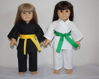 18 Inch Doll Karate Uniform (Gi)
