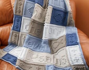 23RD PSALMS pattern for crocheted blanket