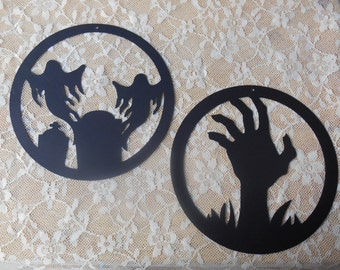 8 Inch Halloween Decorations, wall hanging,party decor,die cut,paper die cut,die cut shapes