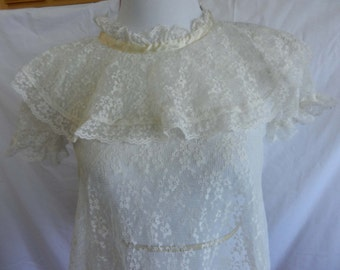 Vintage Lace Lingerie Top