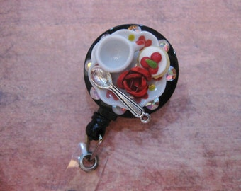 Dollhouse Miniature Badge Holder C926