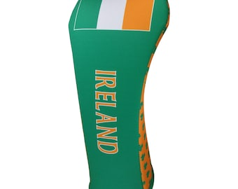 Irish Flag club cover in 3 sizes Golf Club Head Cover Made in the USA