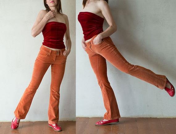 corduroy pants bootcut - Pi Pants