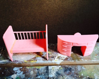 1960's Doll House Furniture