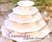 Octagon 5 Tier X Large Cupcake Stand DIY Project MDF Wood Wedding Stand