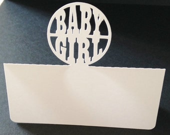 Baby Place Card Settings