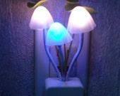 Color Changing Mushroom Night Light