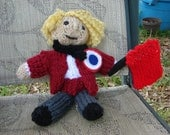 Enjolras, Les Miserables Doll Collection, Hand Knitted, 8""