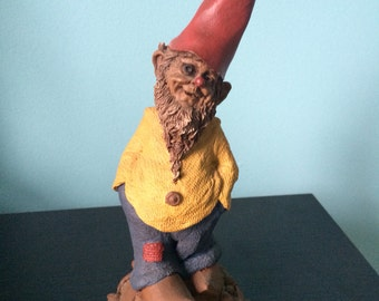 "Shiner Gnome by Tom Clark  9"" tall 1988"