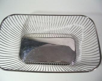 Vintage Gorham Silverplate Bread Basket