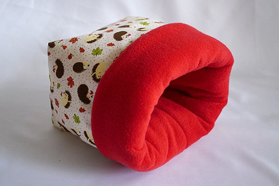 cosy sleeping bag / cuddle sack for guinea pigs or hedgehogs ...