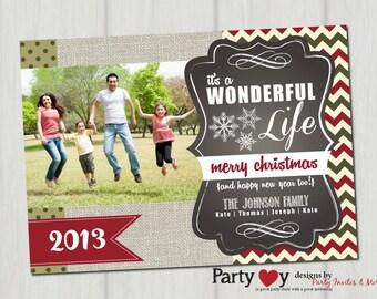 Custom Christmas Card, Christmas Card, Photo Christmas Card, Christmas Photograph Card, Holiday Card, Family Christmas Card