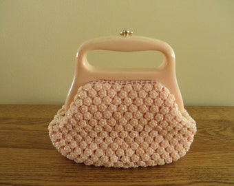 Pink Plastic Purse - Made in Italy
