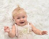 SALE -- Star Headband - Little Girl Headband - Gold Star Headband - Silver Star Headband
