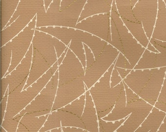 Vintage 1950's Wallpaper by the Yard - Abstract Design