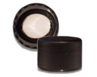 Black 24/410 Standard Non-Dispensing Cap - 10 Pack