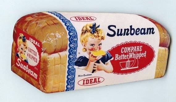 Sunbeam bread girl name