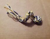 3 Crochet Baby Snakes Cat Toys Handmade Free Shipping