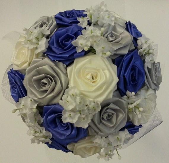 CREATE YOUR OWN Ribbon Flower Bouquet/ Bridal Bouquet/