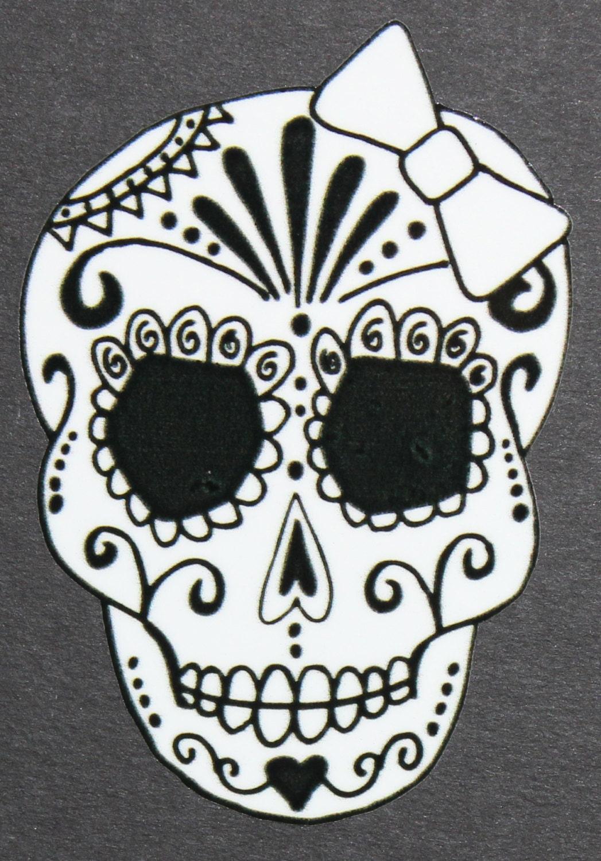 Printable Sugar Skull Stencil | www.imgkid.com - The Image
