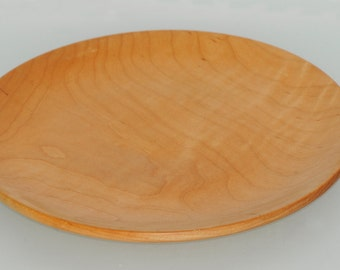 Maple serving plate