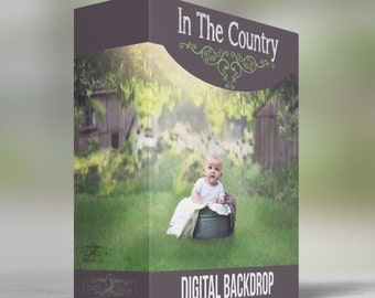 In The Country - Digital Backdrop