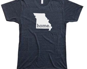 Homeland Tees Men's Missouri Home T-shirt